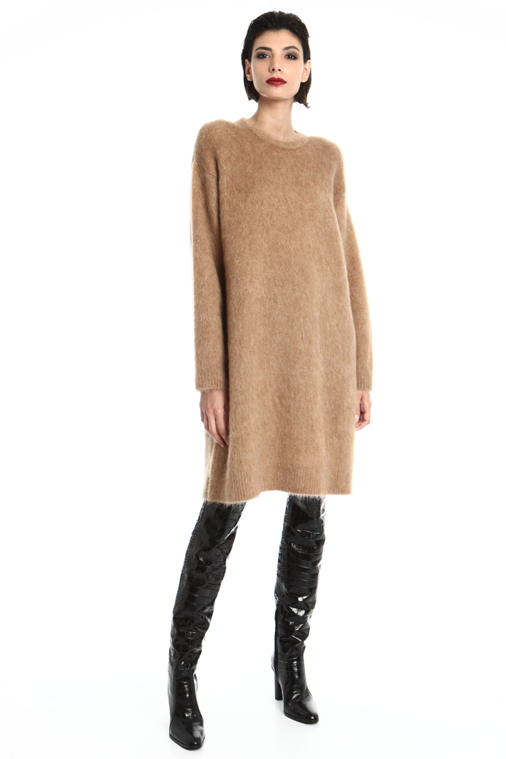 Mohair and wool dress Intrend