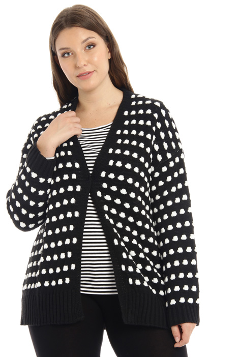 Inlay cardigan Intrend