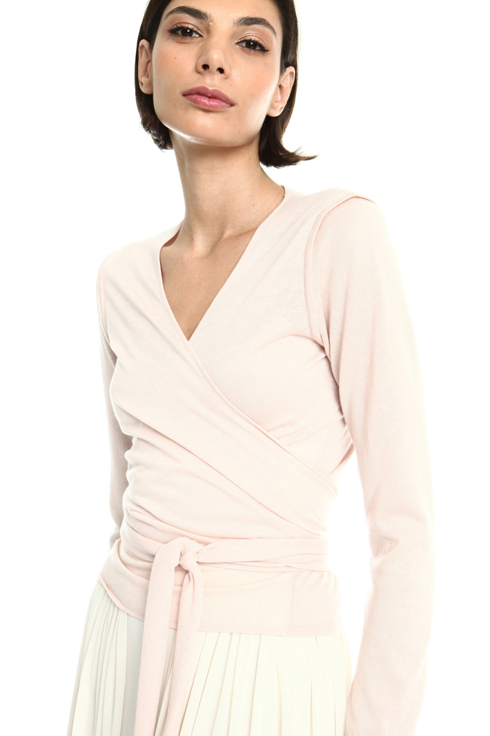 Silk and cashmere cardigan Intrend