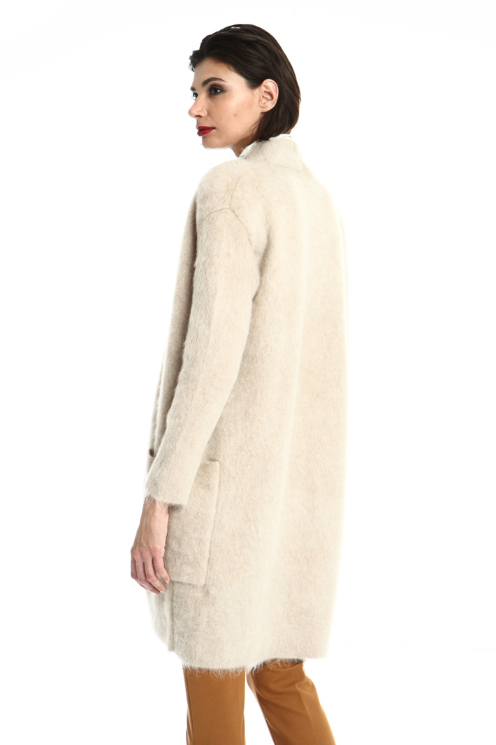 Mohair open front cardigan Intrend