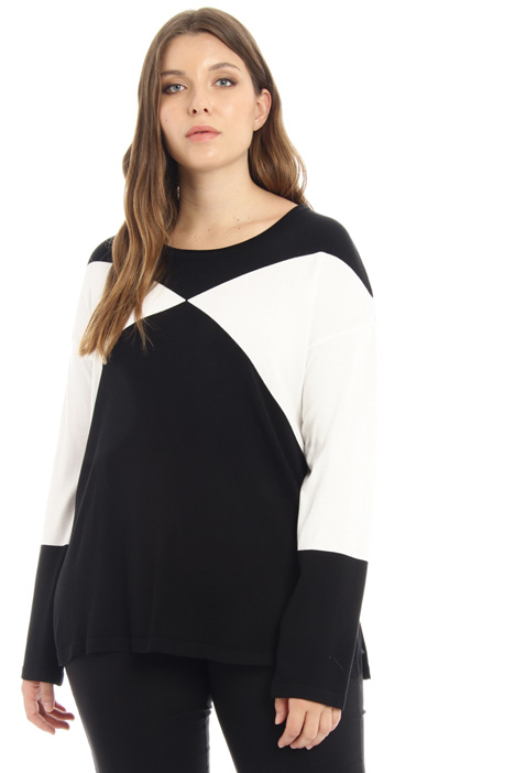 Inlay sweater Intrend
