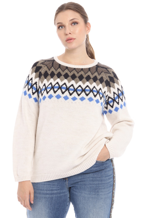 Jacquard sweater Intrend