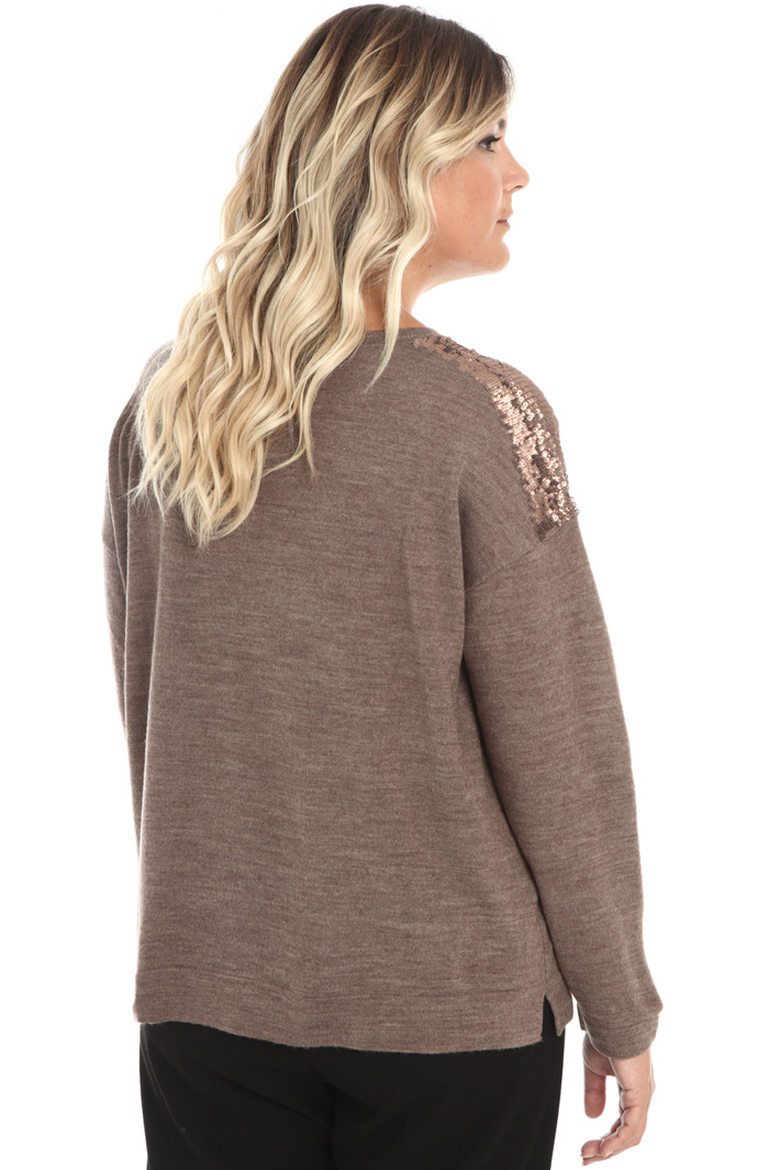 Sequin wool sweater Intrend