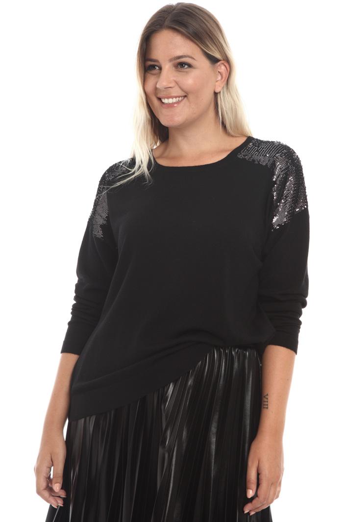 Sequin wool sweater Intrend