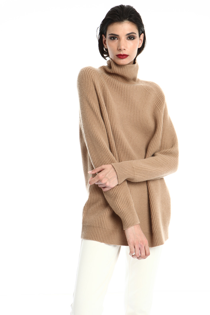 Turtleneck sweater in cashmere Intrend
