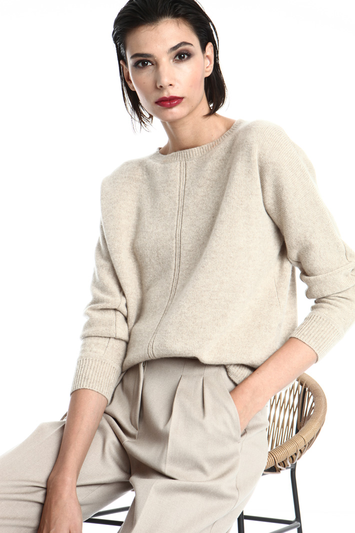 Oversized cashmere sweater Intrend