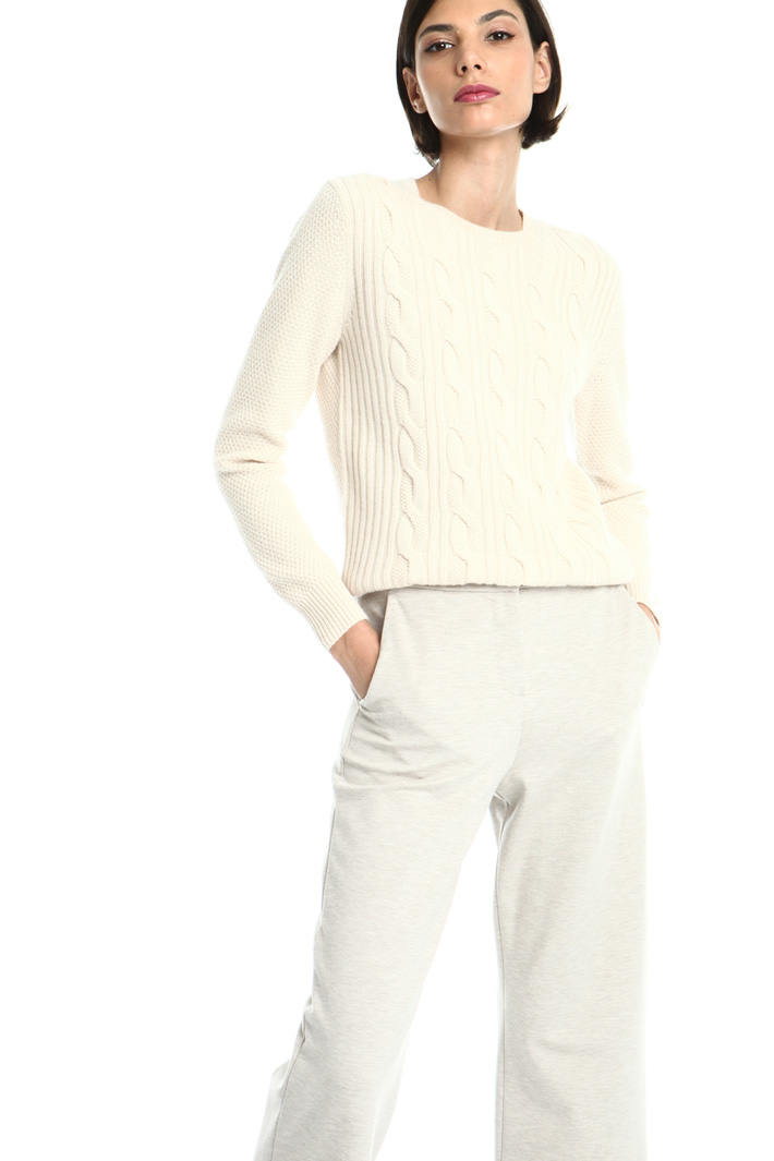 Wool and cashmere jumper Intrend