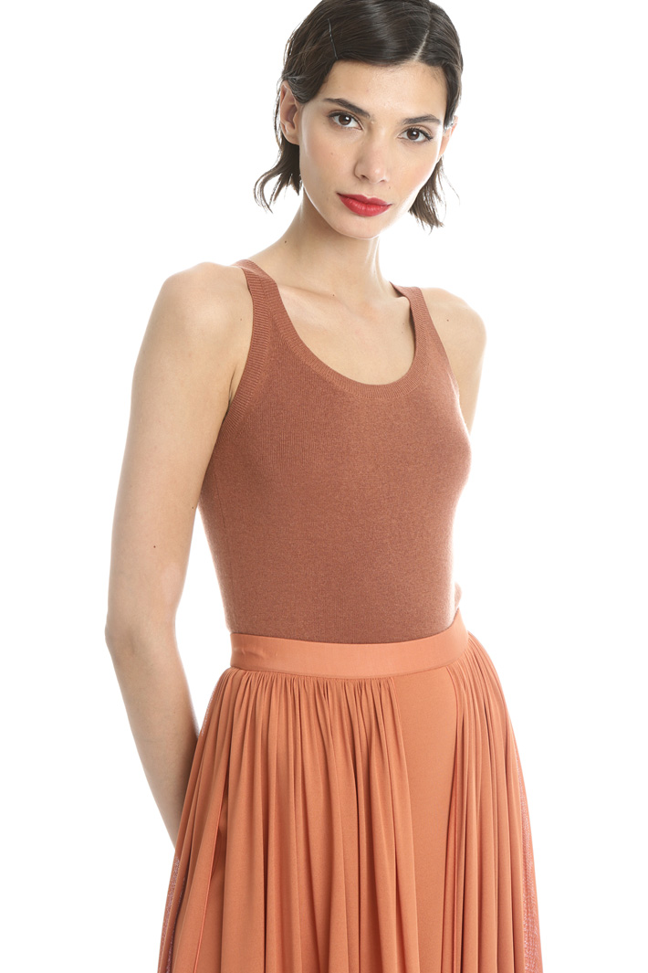 Silk and cashmere tank top Intrend