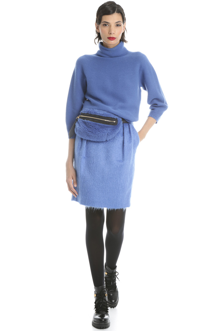 Cashmere funnel neck sweater Intrend