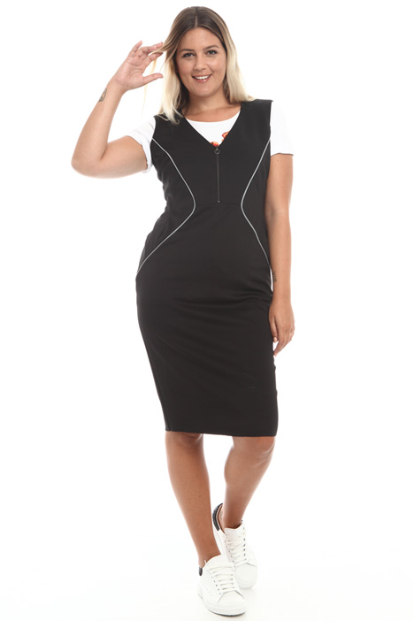 Stretch jersey dress Intrend