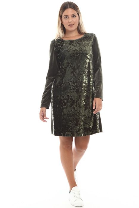 Velvet sequin dress Intrend