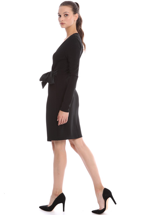 Wrap-up dress in viscose Intrend