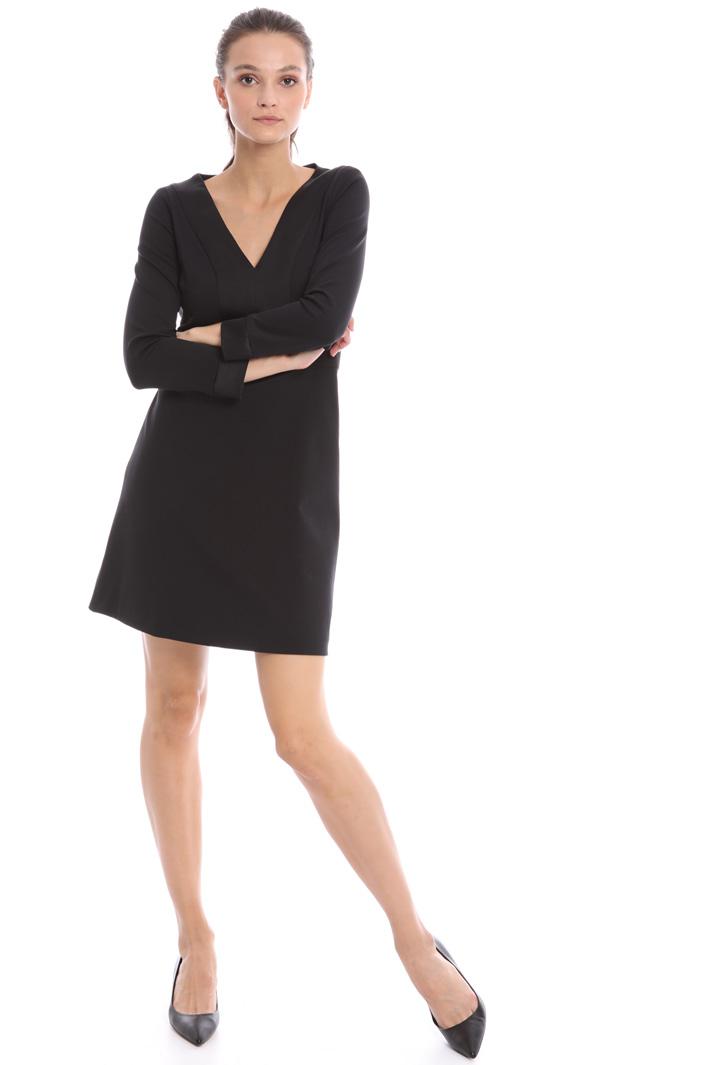 Short jersey dress Intrend