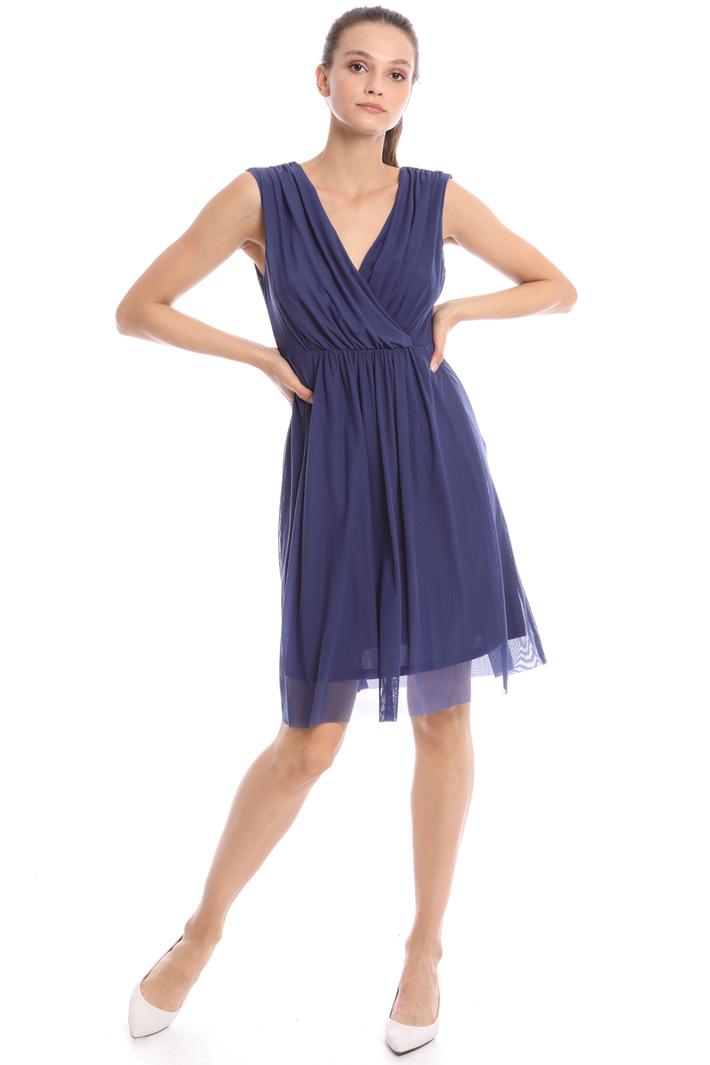 V-neck draped dress Intrend