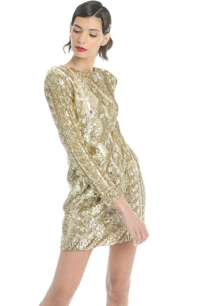 Sequin short dress Intrend