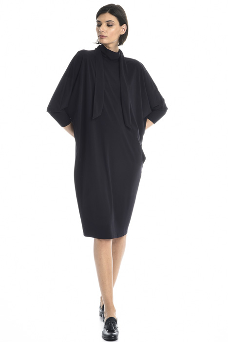 Foulard neck egg-shaped dress Intrend