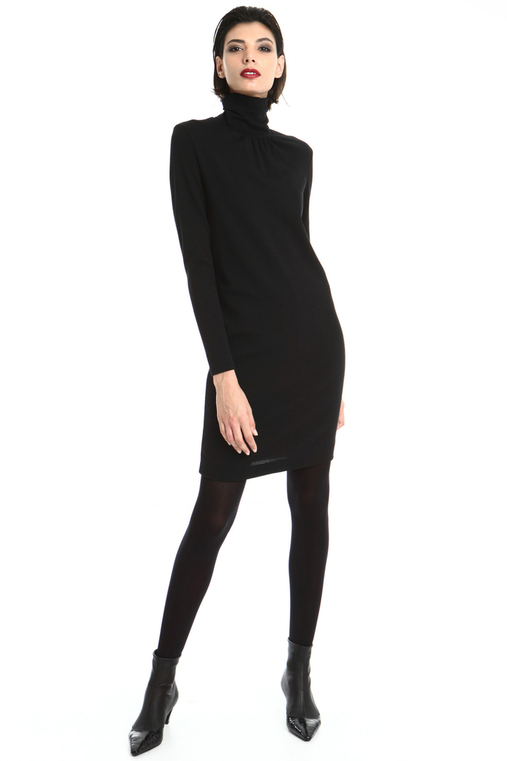 Wool jersey tube dress Intrend