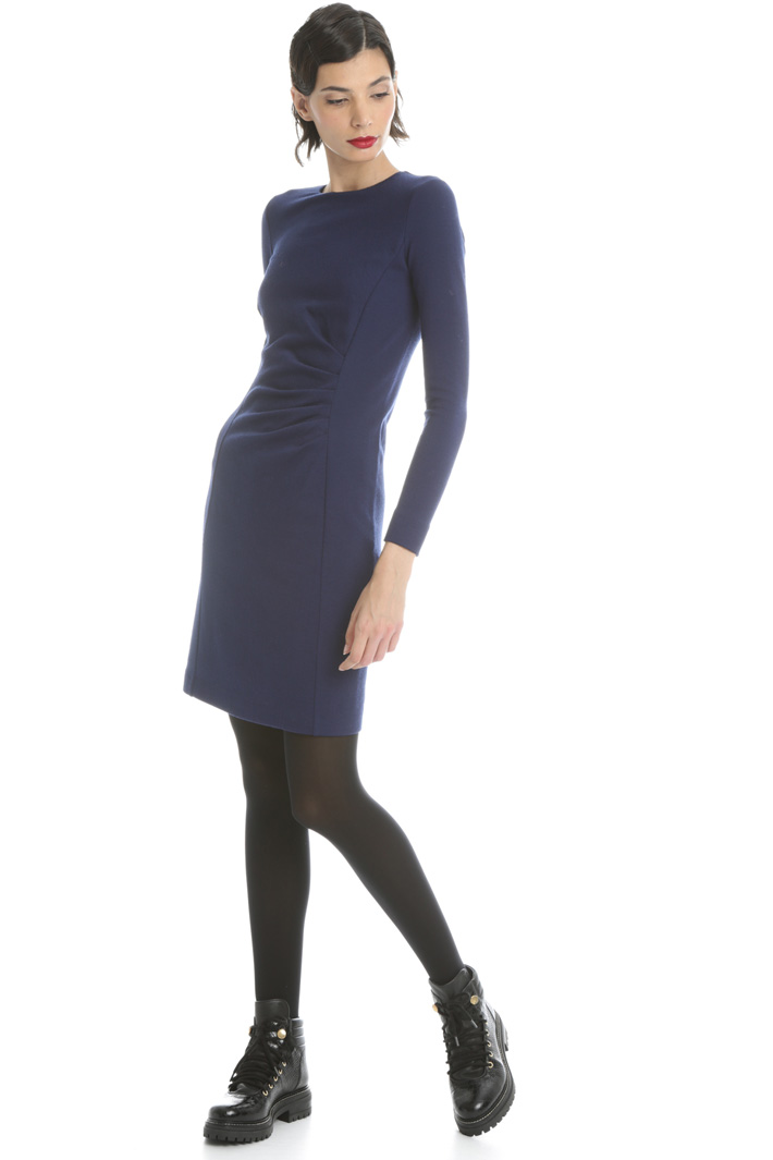 Wool tube dress Intrend
