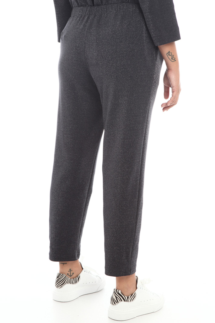 Lurex jersey trousers Intrend