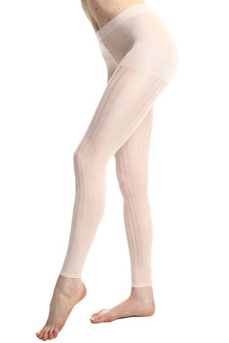 Silk footless tights Intrend