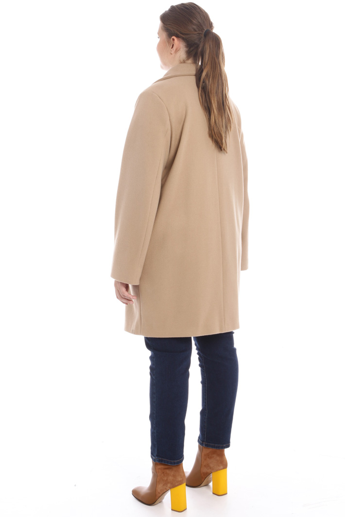 Cappotto in panno jersey Intrend