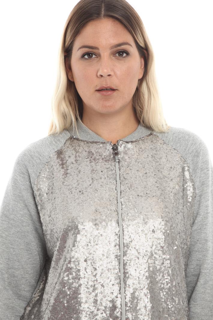 Sequin sweatshirt Intrend