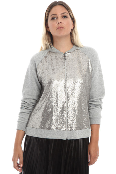 Sequin sweatshirt Intrend