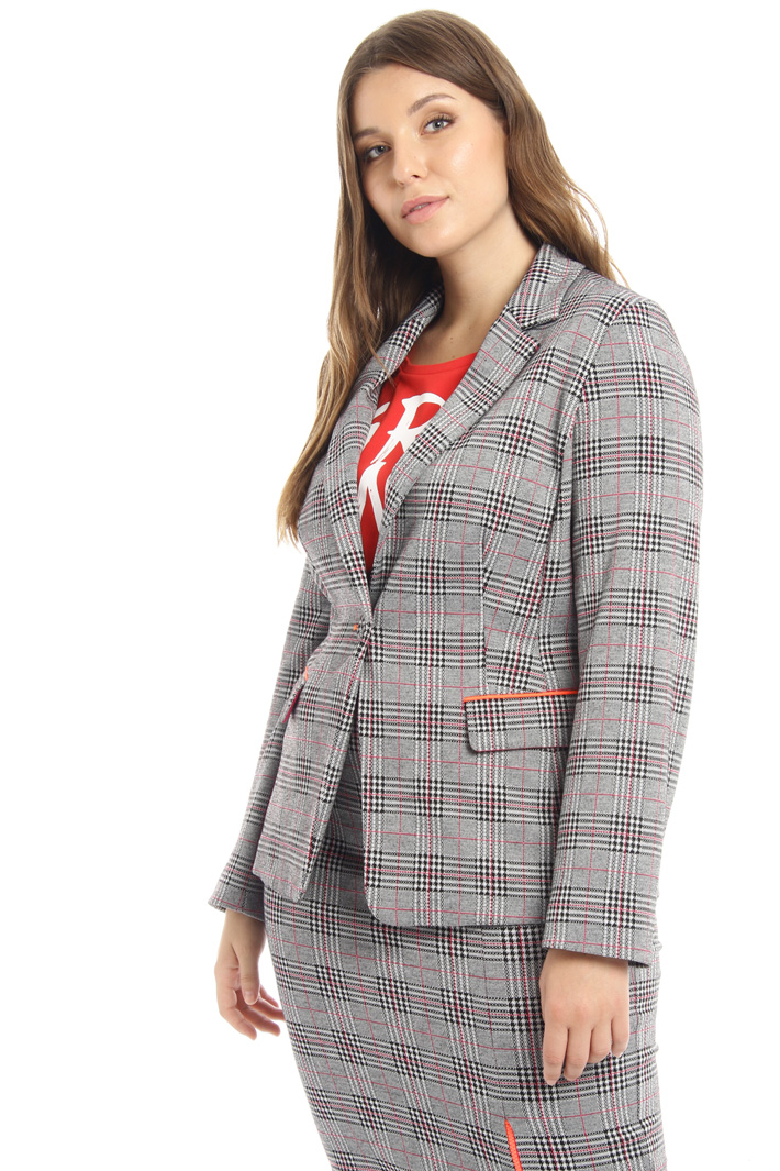 Single-button jersey jacket Intrend