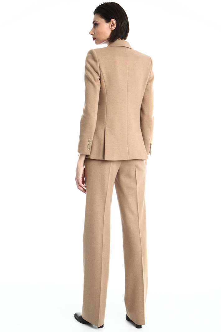 Double breasted camel blazer Intrend
