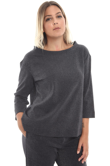 Lurex jersey sweatshirt Intrend