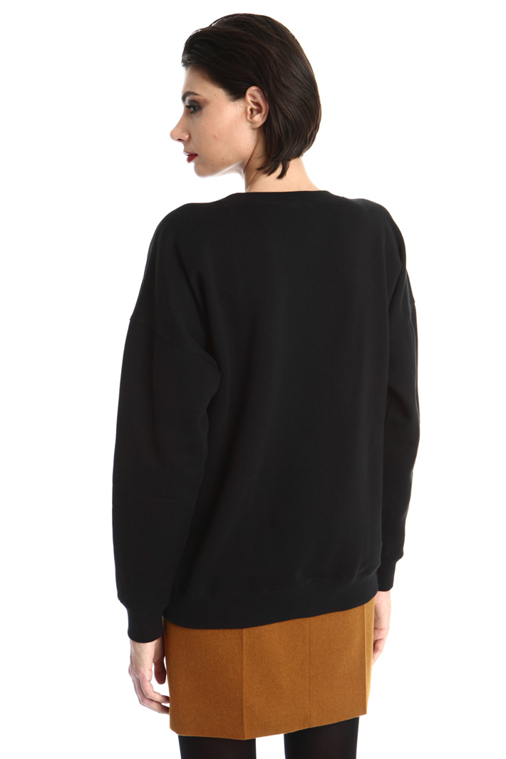 Cotton jersey sweatshirt Intrend