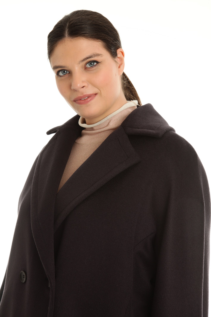 Cappotto in drap di pura lana Intrend