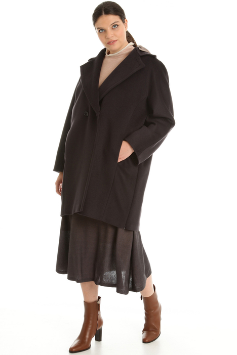 Cappotto in drap di pura lana Intrend