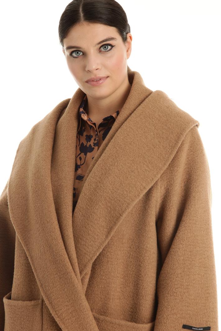 Double camel coat Intrend