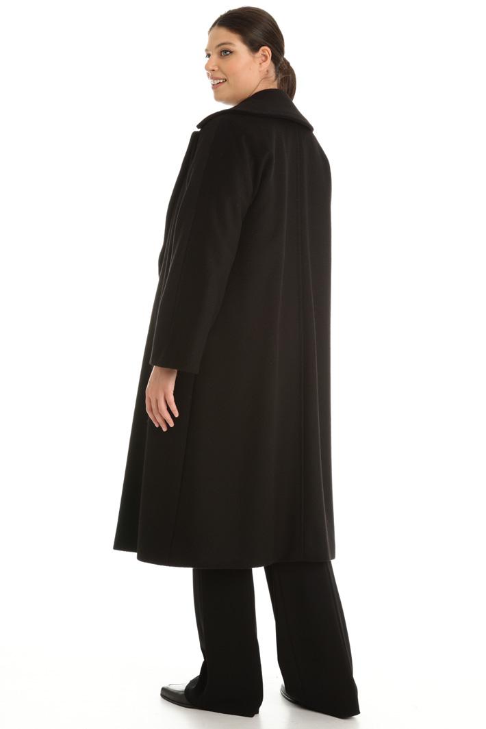 Cappotto in drap di cammello Intrend