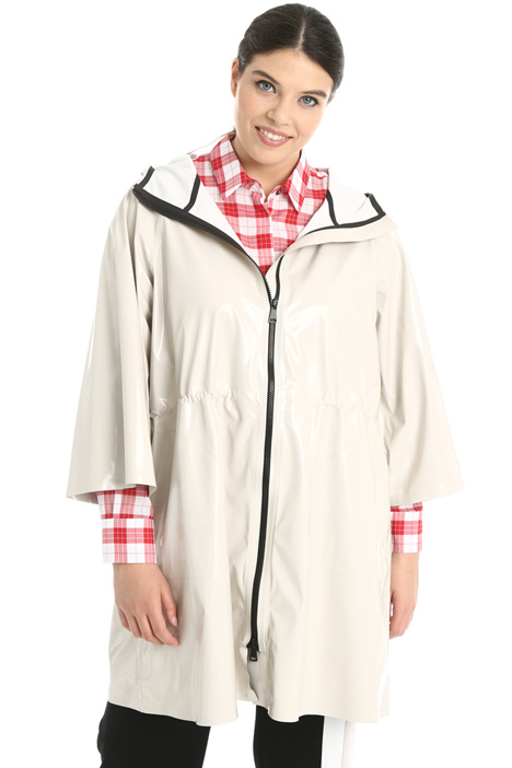 Drawstring raincoat  Intrend