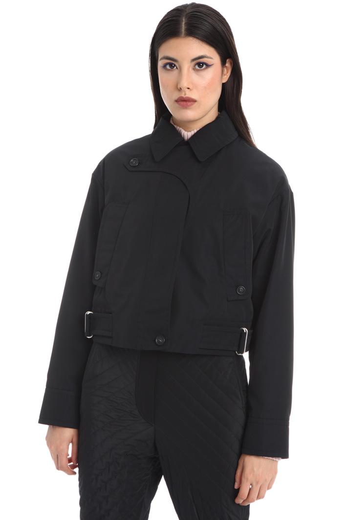 Cotton blend jacket Intrend