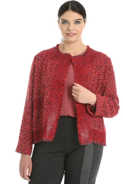 Lurex bouclé jacket  Intrend