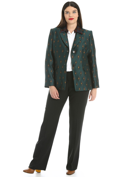 Jacquard jacket Intrend