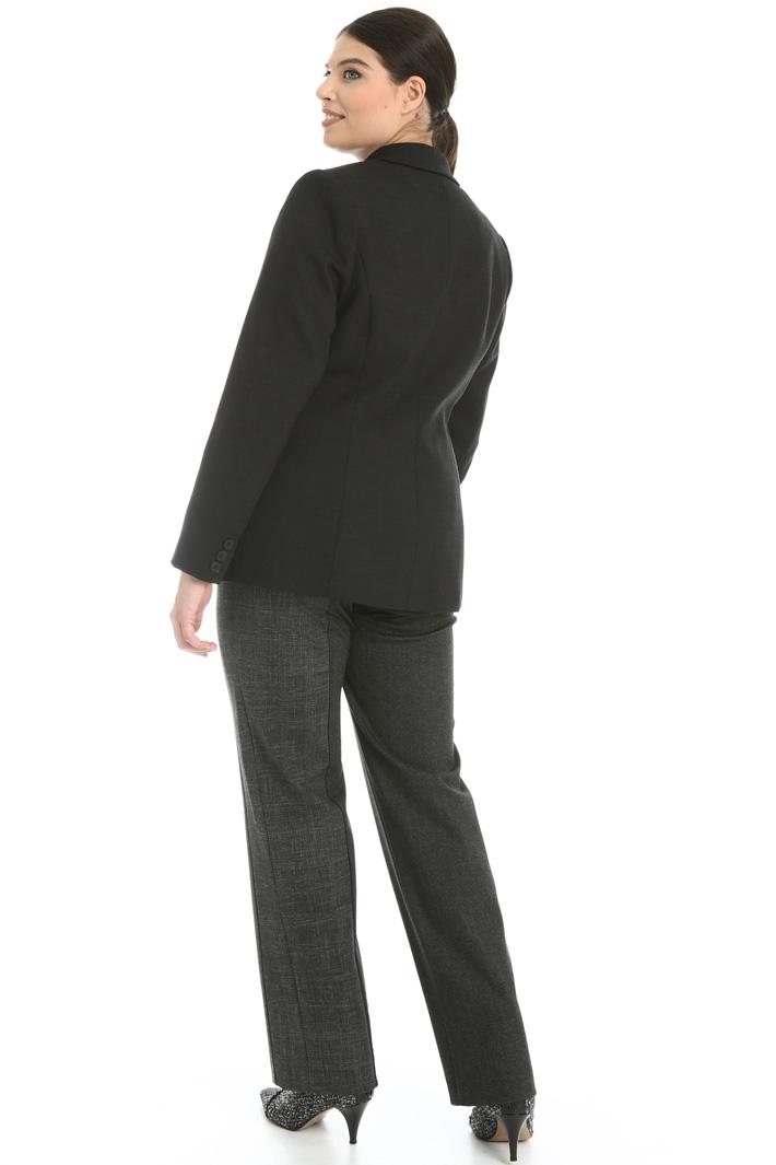 Double wool crêpe jacket  Intrend
