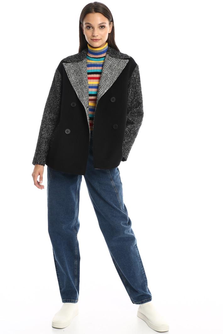 Wool pea coat Intrend
