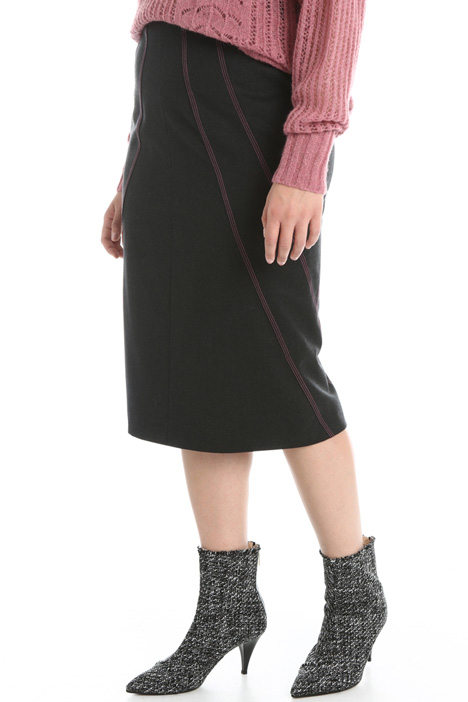 Wool tube skirt Intrend