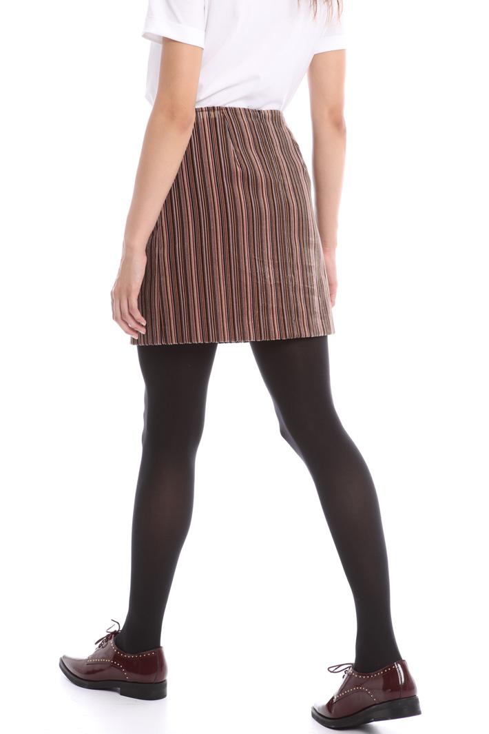 Short velvet skirt Intrend