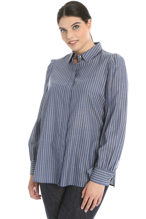 Lightweight poplin shirt Intrend