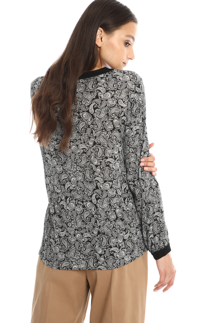 Tie-neck blouse Intrend