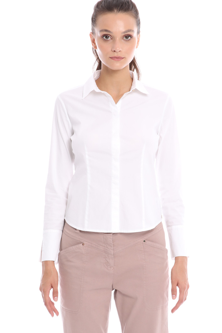 Slim fit cotton shirt Intrend