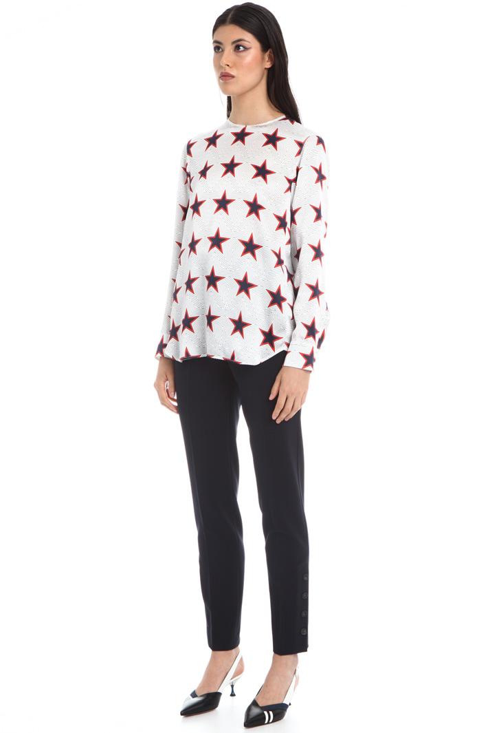 Stars print shirt Intrend