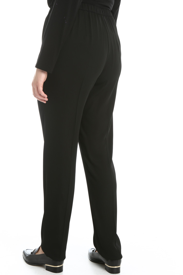 Fluid viscose trousers Intrend
