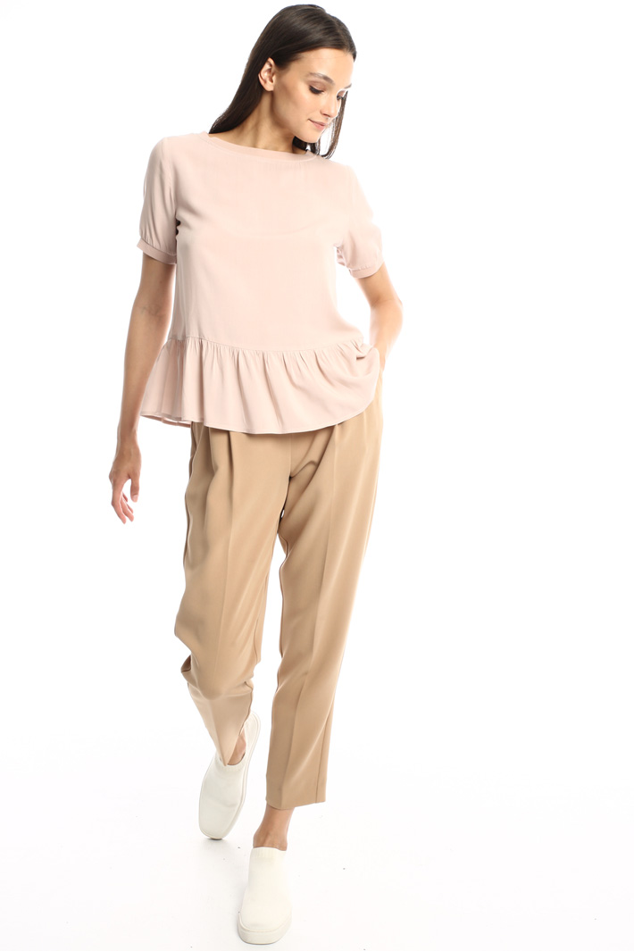Fluid cady trousers Intrend