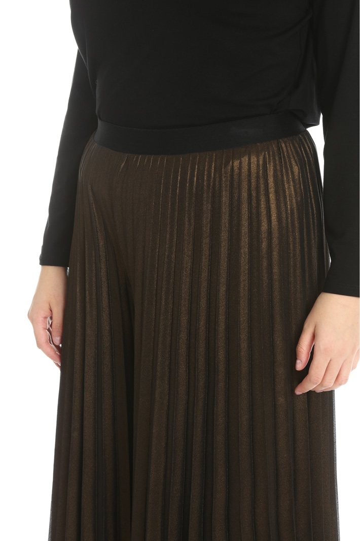Georgette laminated trousers Intrend